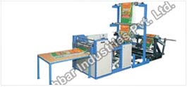 Woven Sack Gusseting & Cutting Machine